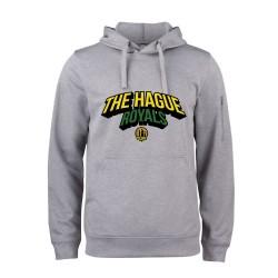 The Hague Royals Active Hoodie Tekst - Grijs-Melange