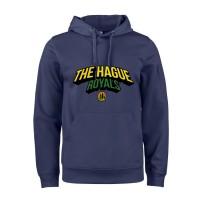 The Hague Royals Active Hoodie Tekst - Navy
