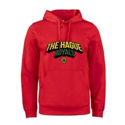 The Hague Royals Active Hoodie Tekst - Rood