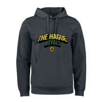 The Hague Royals Active Hoodie Tekst - Zwart