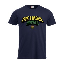 The Hague Royals T-Shirt Tekst - Navy