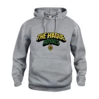 The Hague Royals Basic Hoodie Tekst - Grijs-Melange