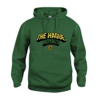 The Hague Royals Basic Hoodie Tekst - Groen