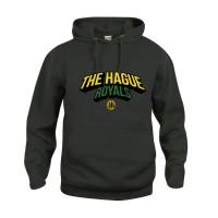 The Hague Royals Basic Hoodie Tekst - Zwart